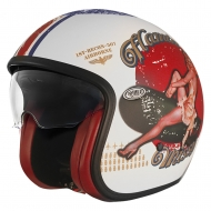Casco Jet Premier 2017 Vintage Pin Up 8 BM