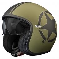 Casco Jet Premier 2017 Vintage Star Military BM